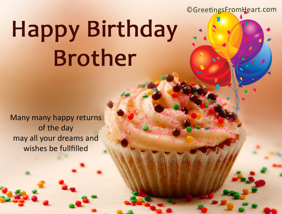Happy birthday wishes to brother sister happy birthday to you happy birthday wishes to brother m4hsunfo