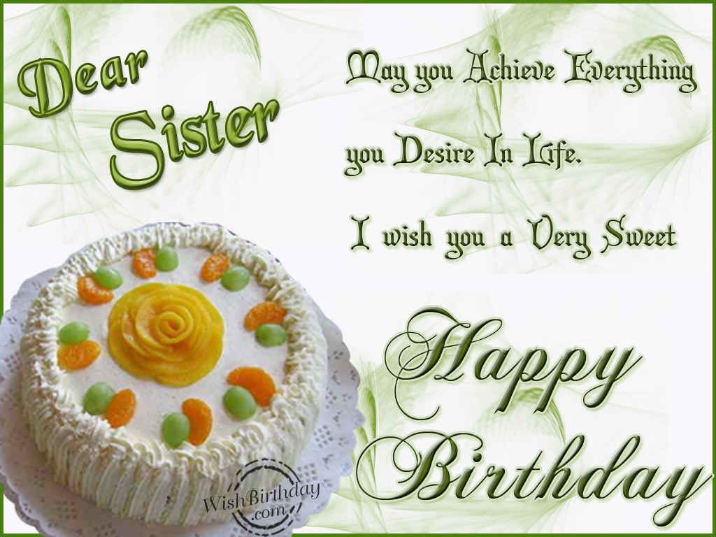 Happy Birthday Wishes to Brother Sister Happy Birthday to You – Happy Birthday Cake Greetings
