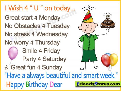 funny birthday sayings for friends