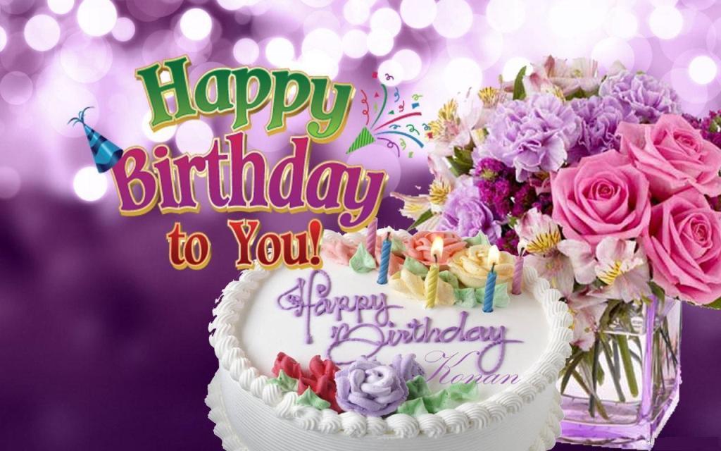 happy birthday to you flowers
