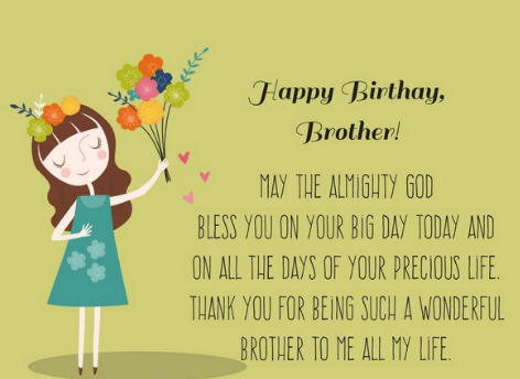 Funny Birthday Quotes for Brother