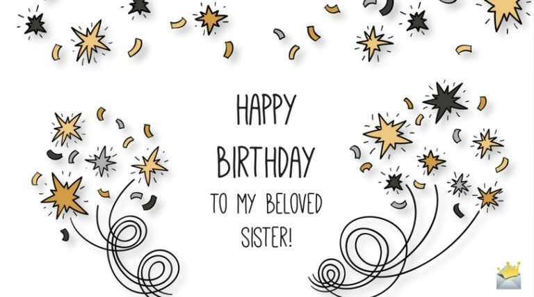 Happy Birthday to my beloved Sister
